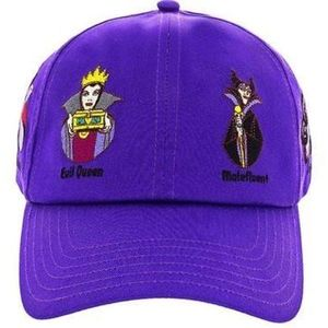 Disney Parks Purple Villains Baseball Cap